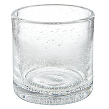 Buy John Lewis Bubble Glass Tealight, Small Online at johnlewis.com
