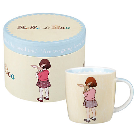 Buy Belle & Boo Classic Belle Hugs Boo Mug Online at johnlewis.com