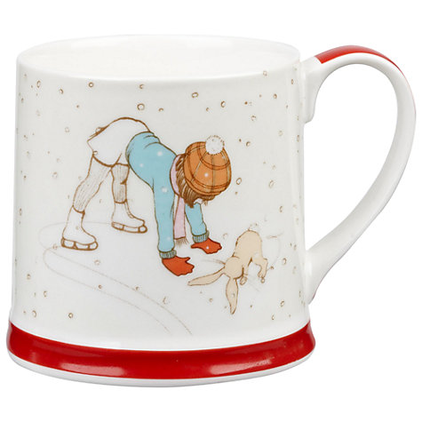 Buy Belle & Boo Shall We Skate Christmas Mug Online at johnlewis.com