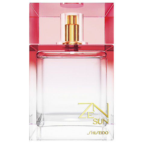 Buy Shiseido Zen Sun Fragrance, 100ml Online at johnlewis.com