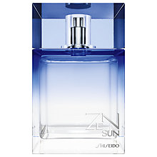 Buy Shiseido Zen Sun For Men Eau de Toilette, 100ml Online at johnlewis.com