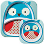 Buy Skip Hop Melamine Dinner Set, Owl Online at johnlewis.com