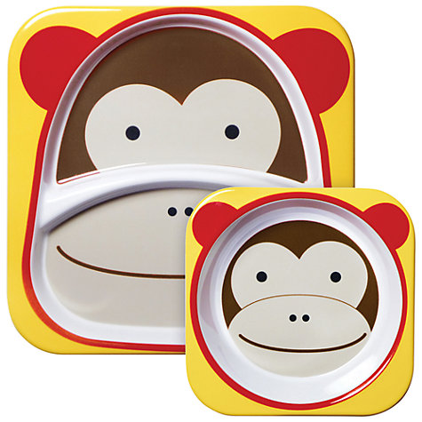 Buy Skip Hop Melamine Dinner Set, Monkey Online at johnlewis.com