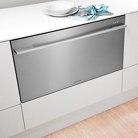 Buy Fisher & Paykel DD90SDFHTX2 Single DishDrawer 90cm Wide Dishwasher Online at johnlewis.com