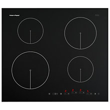 Buy Fisher & Paykel CI604DTB1 Induction Hob, Black Online at johnlewis.com