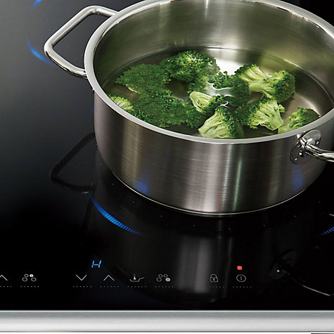Buy Panasonic KY-B84BXBXD Induction Hob, Black Glass Online at johnlewis.com