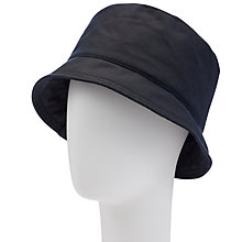 Buy John Lewis Waxed Cloche Rain Hat Online at johnlewis.com