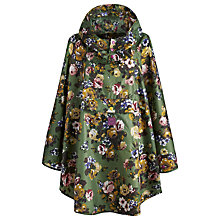 Buy Joules Posy Print Hooded Rain Mac Poncho Online at johnlewis.com