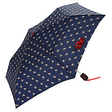 Buy Joules Horse Print Umbrella, Navy Online at johnlewis.com