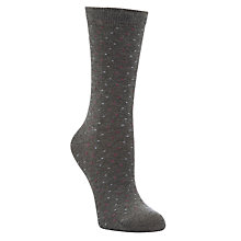 Buy John Lewis Viscose Spot Print Ankle Socks Online at johnlewis.com