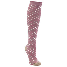 Buy John Lewis Spot Print Knee High Socks Online at johnlewis.com