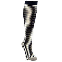 Buy John Lewis Striped Knee High Socks Online at johnlewis.com