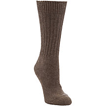 Buy John Lewis Cashmere Ribbed Socks Online at johnlewis.com