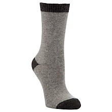 Buy John Lewis Cashmere Heel and Toe Socks Online at johnlewis.com