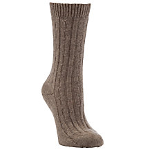 Buy John Lewis Cashmere Bedsocks Online at johnlewis.com