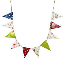 Buy Oily Rag Mixed Songbird Bunting, Classic Online at johnlewis.com