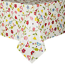 Buy Oily Rag Songbird Tablecloth Online at johnlewis.com