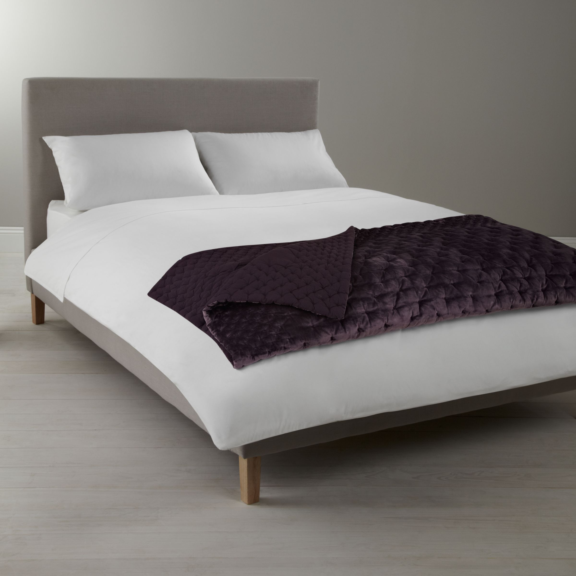 Buy John Lewis Velvet Stitch Throw Online at johnlewis.com