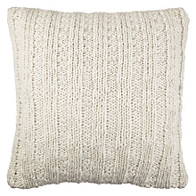 Buy John Lewis Elliot Knitted Cushion Online at johnlewis.com