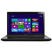 "Buy Lenovo G580 Laptop, Intel Core i3, 2.5GHz, 8GB RAM, 1TB, 15.6"", Gun Metal Online at johnlewis.com"
