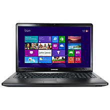 "Buy Samsung 350E7C-A04UK Laptop, Intel Pentium B970, 2.3GHz, 6GB RAM, 750GB, 17.3"", Silver Online at johnlewis.com"