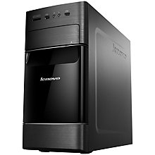Buy Lenovo H520 Desktop PC, Intel Core i5, 3.0GHz, 4GB RAM, 1TB, Black & Silver Online at johnlewis.com