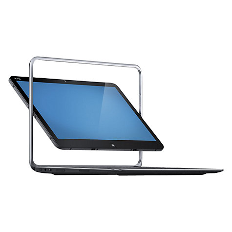 Buy Dell XPS Duo 12 Convertible Ultrabook, Intel Core i5, 4GB RAM, 128GB SSD, 12.5 Touch Screen, Silver Online at johnlewis.com
