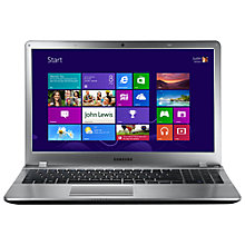 "Buy Samsung Series 5 NP 510R5E A01 Laptop, Intel Core i5, 2.6GHz, 8GB RAM, 1TB, 15.6"", Bare Metal Online at johnlewis.com"