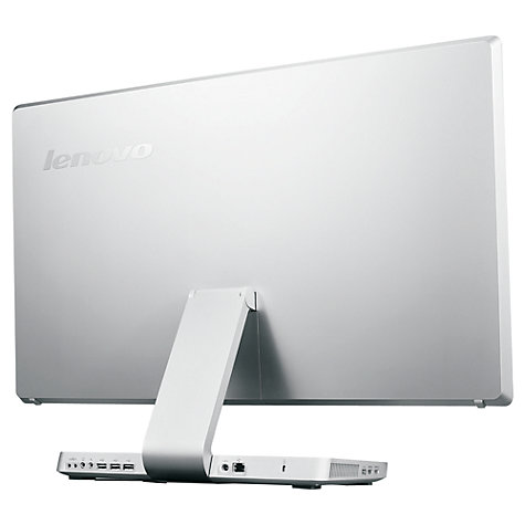 "Buy Lenovo IdeaCentre A720 All-in-One Desktop PC, Intel Core i5, 6GB RAM, 1TB, 27"" Touch Screen, Silver Online at johnlewis.com"