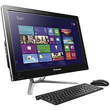 "Buy Lenovo IdeaCentre C540 AIO Desktop PC, Intel Core i5, 2.7GHz, 6GB RAM, 2TB, 23"", Black Online at johnlewis.com"