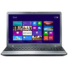 "Buy Samsung 350V5C-A0NUK Laptop, Intel i3, 2.4GHz, 6GB RAM, 750GB, 15.6"", Silver Online at johnlewis.com"