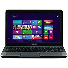 "Buy Toshiba Satellite L830-16W Laptop, Intel Core i3, 1.6GHz, 6GB RAM, 750GB, 13.3"", Silver Online at johnlewis.com"