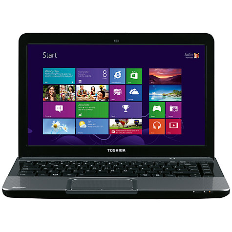 "Buy Toshiba Satellite L830-16W Laptop, Intel Core i3, 6GB RAM, 750GB, 13.3"", Silver Online at johnlewis.com"