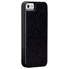 Buy Case-Mate Glam Case for iPhone 5, Black Glitter Online at johnlewis.com