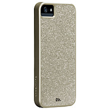 Buy Case-Mate Glam Case for iPhone 5, Champagne Online at johnlewis.com