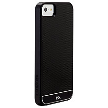 Buy Case-Mate Carbon Fiber Case for iPhone 5, Black Online at johnlewis.com