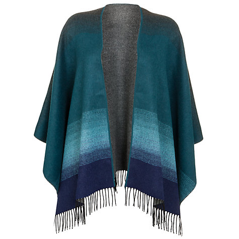 Buy John Lewis Contrast Gradient Serape, Blue Online at johnlewis.com