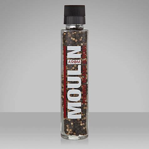 Buy A'rom Moulin Black & White Pepper Mill Online at johnlewis.com