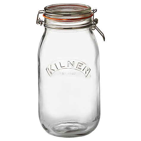 Buy Kilner Square Clip Top Spice Jar, 70ml Online at johnlewis.com