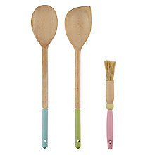 Buy Tala Wooden Spoons, Set of 3, Assorted Online at johnlewis.com