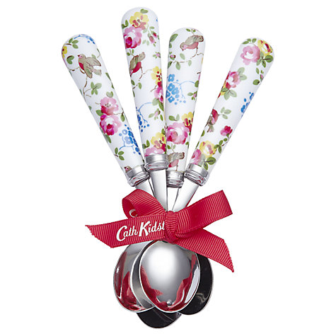 Buy Cath Kidston Bird Teaspoons, Set of 4 Online at johnlewis.com