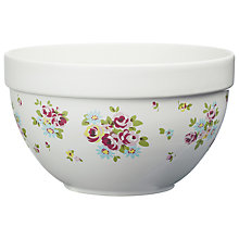 Buy Cath Kidston Daisy Rose Checked Mixing Bowl Online at johnlewis.com