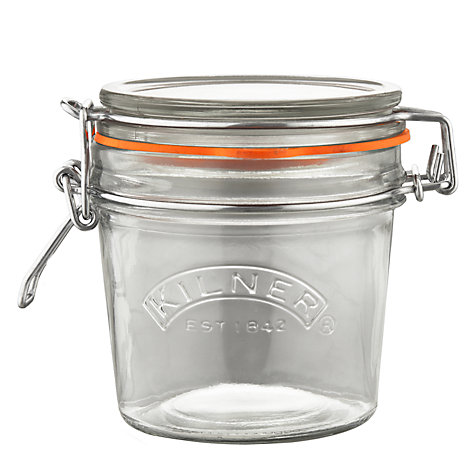 Buy Kilner Round Clip Top Preserving Jar, 0.35L Online at johnlewis.com