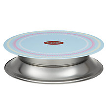 Buy Tala Vintage-Inspired Icing Turntable, White/Blue, Dia.23cm Online at johnlewis.com