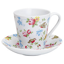 Buy Cath Kidston Bird Cup and Saucer Online at johnlewis.com