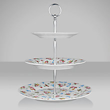 Buy Cath Kidston Bird 3 Tier Cake Stand Online at johnlewis.com