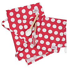 Buy Cath Kidston Big Spot Apron, Tea Towel and Baking Utensil Set Online at johnlewis.com