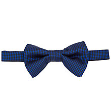 Buy Denison Boston Check Ready Tied Bow Tie Online at johnlewis.com