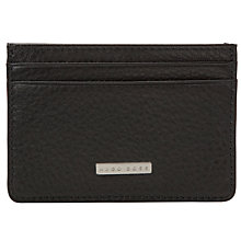 Buy Hugo Boss Card Holder, Black Online at johnlewis.com