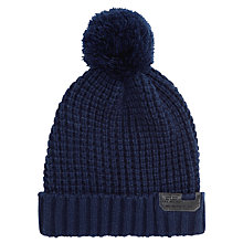 Buy Diesel Tuan Bobble Hat, Navy Online at johnlewis.com